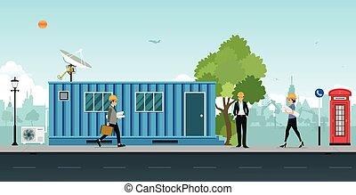 Containerbüro.