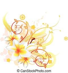 Cooler Blumen Hintergrund