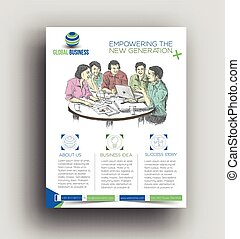 Corporate Business Flyer & Poster Vorlage.