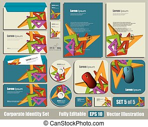 Corporate Identity Business Kit.