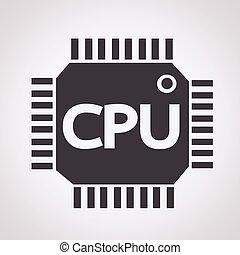 cpu, ikone