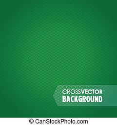 Cross Line Green Hintergrund.