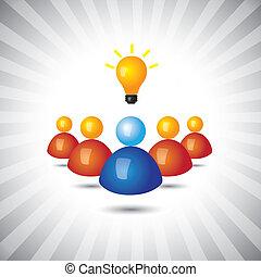 darstellen, einfache , graphic., geschäftsführung, manager, politisch, gewinnen, auch, angestellter, führer, seine, geschaeftswelt, erfolgreich, abbildung, anhänger, ideas-, personal, dieser, person, vektor, buechse, oder