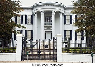 Das Anwesen des Gouverneurs in Jackson