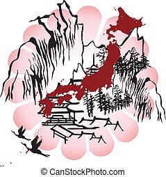 Das Bild von Japan verfälscht
