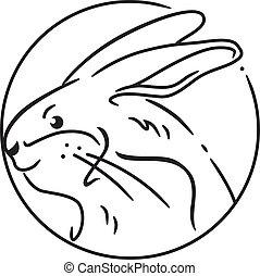 Das Jahr des Kaninchens.