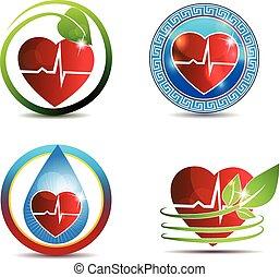 Das menschliche Herzsymbol