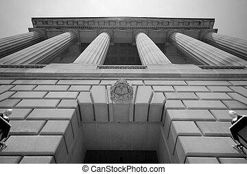 Das Regierungsgebäude Washington DC