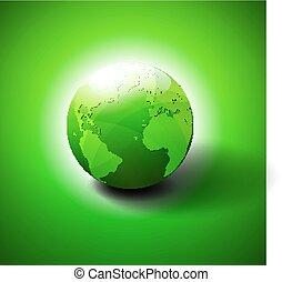 Das Symbol der grünen Welt.