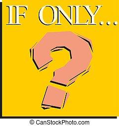 Das Symbol des Fragezeichens. Unterschreiben Sie auf gelbem Hintergrund. Vector