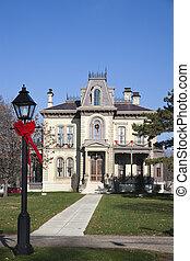 David Davis historische Villa in Blomington