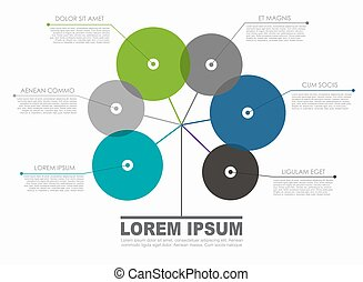 dein, illustration., infographic, vektor, ort, data., schablone, design