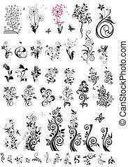 Dekorationselemente für Blumen (