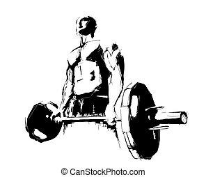 Der Bodybuilder