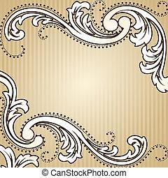 Der klassische Sepia Hintergrund