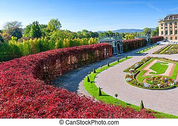 Der schöne Palast von Schonbrunn in Wien