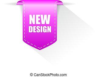 design, neu , vektor, geschenkband