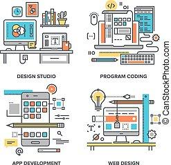 Design und Entwicklung.