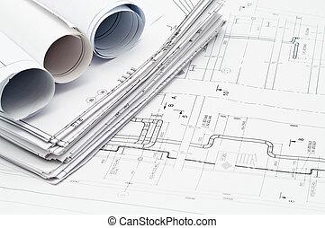 Design und funktionierende Baupläne