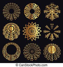 Design und Kaligraphische Elemente