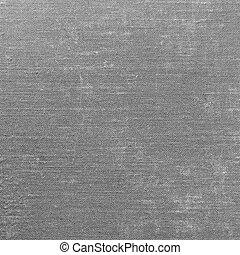 Detailed Grey grunge linen textur background.