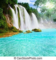 Detianischer Wasserfall