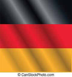 Deutschland-Flagge.