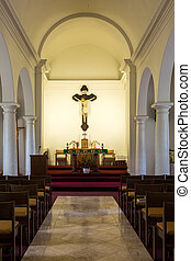 Die älteste katholische Kirche auf Kauai.
