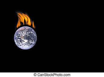 Die Erde zu töten.