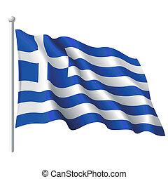 Die Flagge des Grues