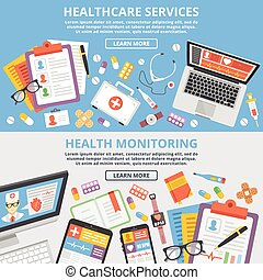 Die Gesundheitsversorgung bietet flache Konzepte