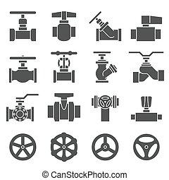 Die Icons werden geklappert und getappt.
