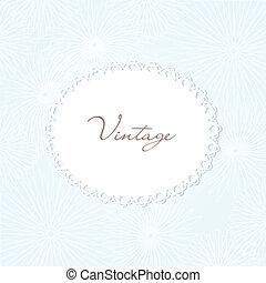 Die Vintage-Hand hat Hintergrund für dein Design gezeichnet