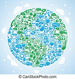 Die Welt der sozialen Medien