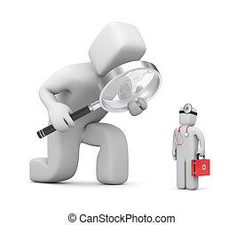 dienstleistungen, medizin, erforschung