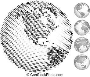 Digitale Globen