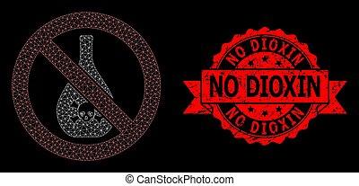 dioxin, siegel, not, verboten, netz, nein, briefmarke, web, chemikalien