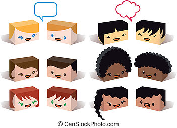 Diversity Avatare, Vektor