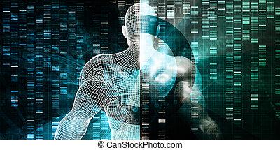DNA-Sequenzierung.