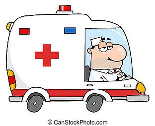 Doktor der Ambulanz