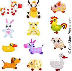 Domesische Spielzeugtiere