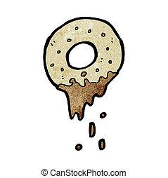donut, karikatur