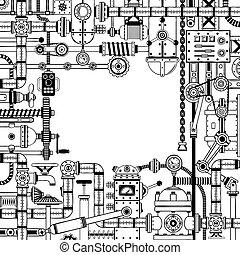 Doodle-Rahmen