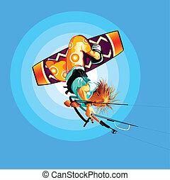 Drachensurfer