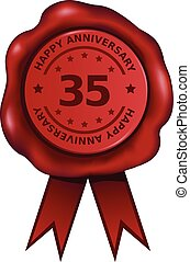 dreißig, fünfter, jubiläum
