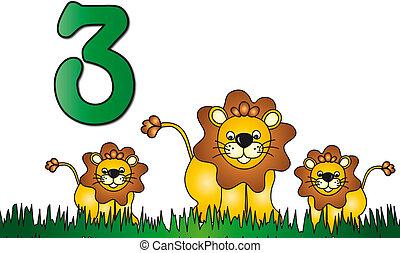 Drei Nummern