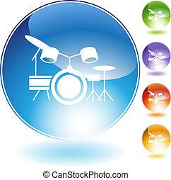 Drum Set Instrument