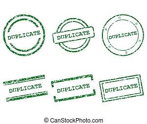duplikat, briefmarken