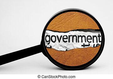 durchsuchung, regierung