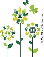 Eco-Blumen, 1